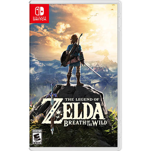 The Legend Of Zelda: Breath Of The Wild - (US)(ENG/CHN)(Switch)