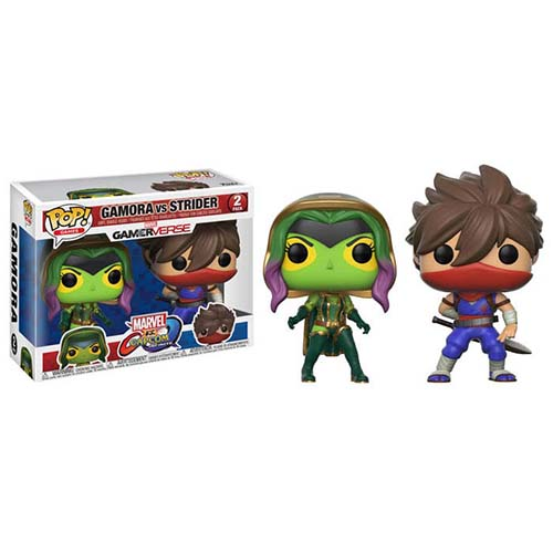FUNKO Pop! Games: Marvel VS. Capcom 2PK - Gamora Vs. Strider