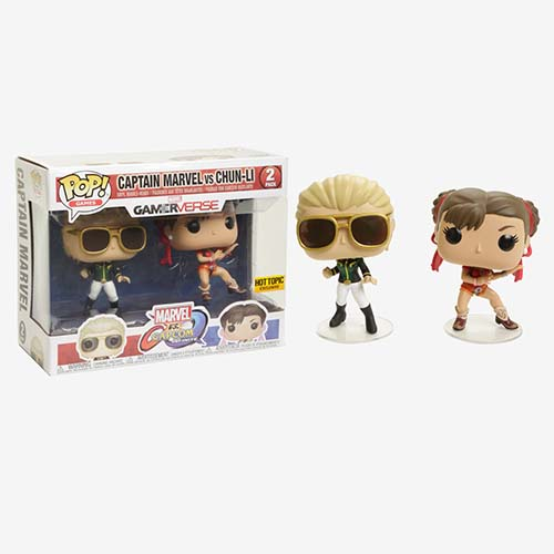 FUNKO Pop! Games: Marvel VS. Capcom 2PK - Pop 12e