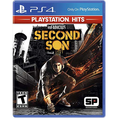 inFamous: Second Son PlayStation Hits - (R3)(Eng,Chn)(PS4)