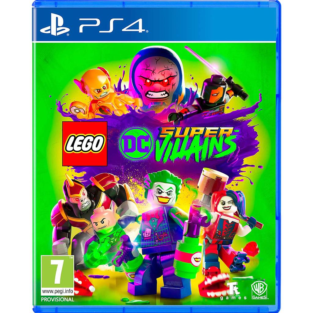 LEGO DC SUPER-VILLAINS- R3/Eng,Chn, (PS4)(Pre-Order)