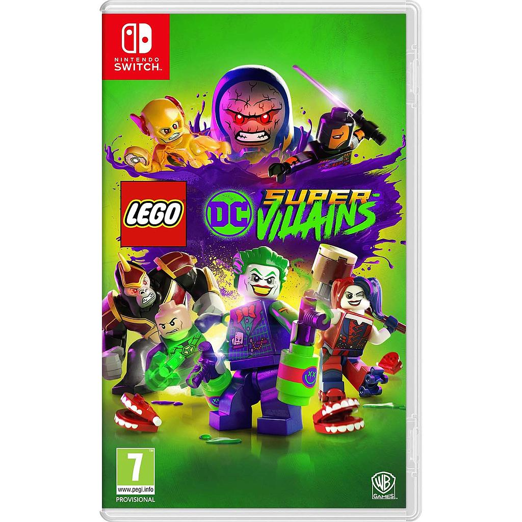 LEGO DC SUPER-VILLAINS- Eng/Chn, (Switch)( Pre-Order)
