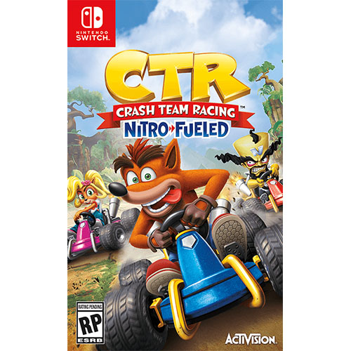 CRASH TEAM RACING NITRO-FUELED (Pre-Order) (Switch)