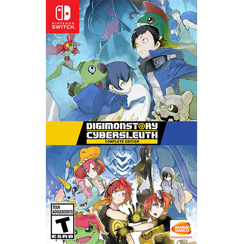 Digimon CyberSleuth & Hackers Memory-(Eng)(Switch)(Pre-Order)