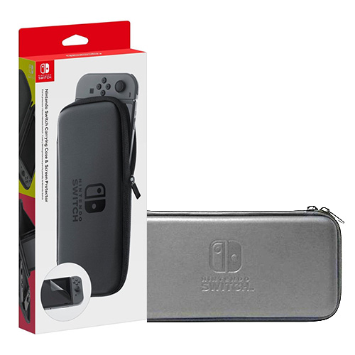 SWITCH NINTENDO CARRY BAG (Silver)