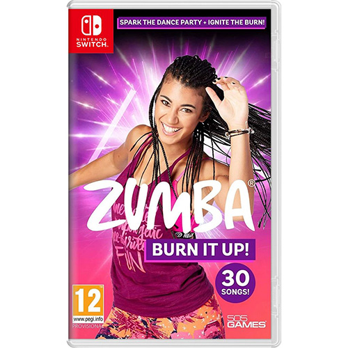 Zumba Burn It Up!- (R2)(Eng Chn)(Switch)(Pre-Order)
