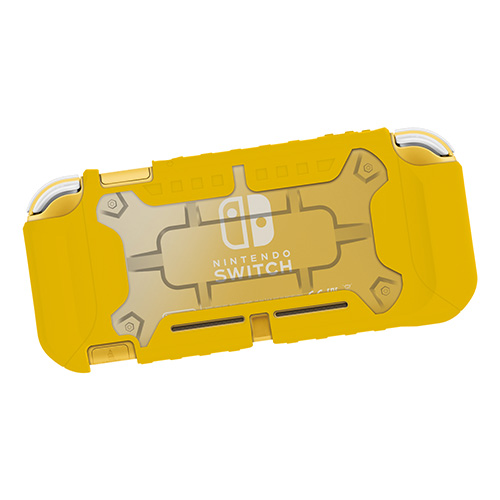 HORI Tough Protector For Nintendo Switch Lite - (Clear X Yellow)