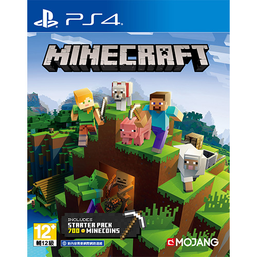 Minecraft Starter Collection - (Eng,Chn)(PS4)***