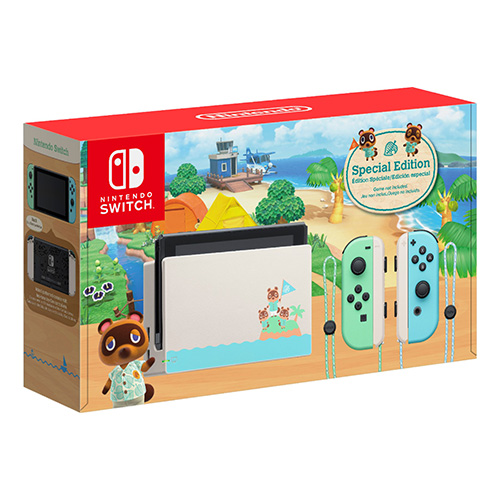 Animal Crossing New Horizons Switch Console Special Edition - (Asia)(Console Only)