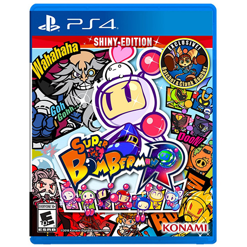 Super Bomberman R Shiny Edition - (R1)(PS4)
