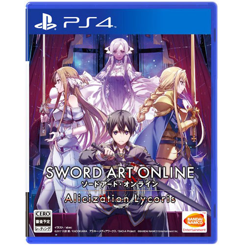 Sword Art Online: Alicization Lycoris (Deluxe Edition) - (R3)(Chn)(PS4)(Pre-Order)