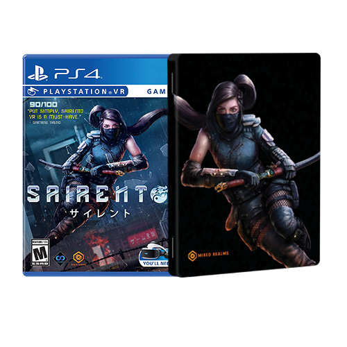 Sairento VR (Steelcase Edition) - (R3)(Eng,Chn)(PSVR)