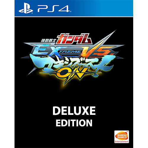 Mobile Suit Gundam: Extreme Vs Maxi Boost ON Deluxe Edition - (R3)(Chn)(PS4)(Pre-Order)