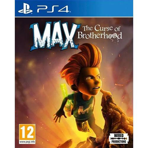Max: The Curse of Brotherhood - (R2)(Eng)(PS4)