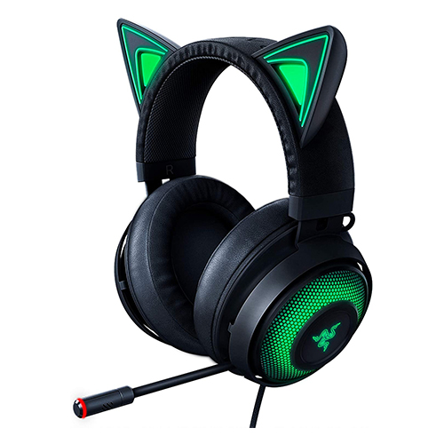 Razer Kraken Kitty Chroma Gaming Headset - (Black)