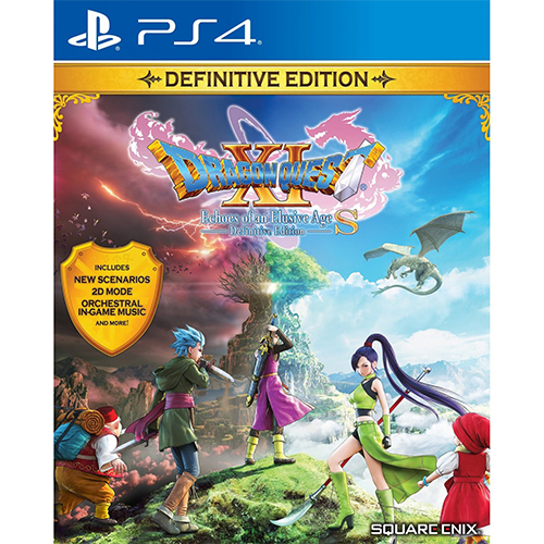 Dragon Quest XI S: Echoes of an Elusive Age (Definitive Edition) - (R3)(Eng)(PS4)