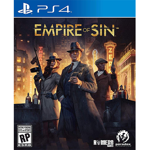 Empire of Sin - (R3)(Eng/Chn/Kor)(PS4)