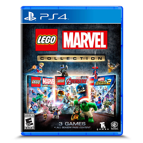 LEGO Marvel Collection - (R3)(Eng)(PS4)