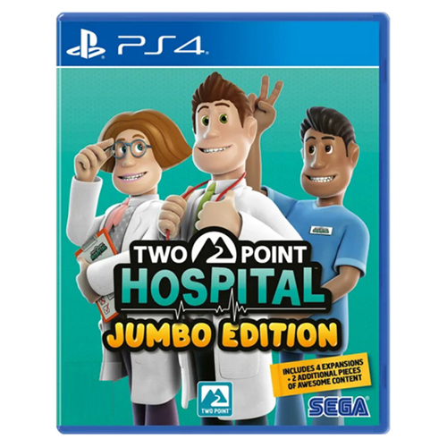 Two Point Hospital: Jumbo Edition - (R3)(Eng/Chn)(PS4)(Pre-Order)