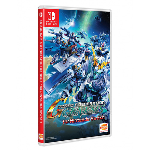 SD Gundam G Generation Genesis - (Asia)(Eng/Kr)(Switch) (SALE)