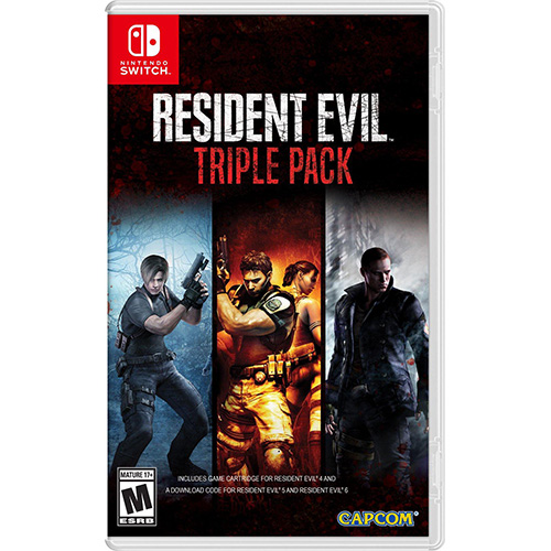 Resident Evil: Triple Pack - (US)(Switch)